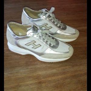Stylish looking sneakers ladies size 39  Hogan